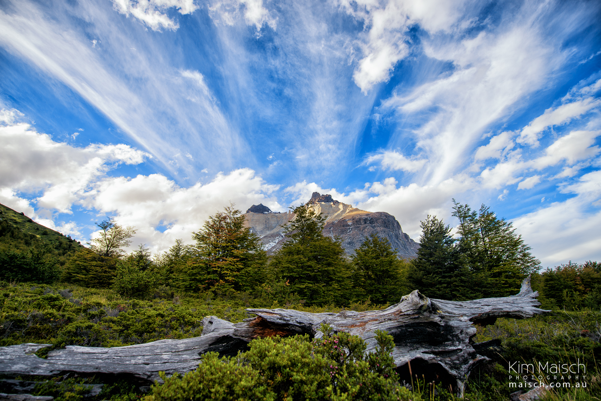 Torres Del Paine Clouds Kim Maisch Photography